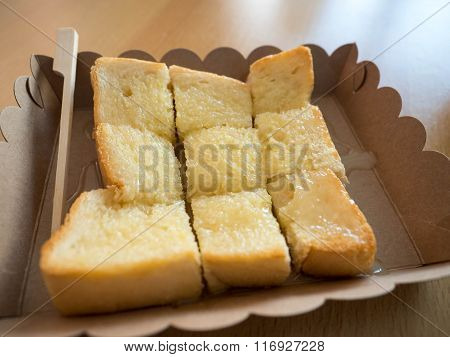 Toast With Condensedmilk Select Focus