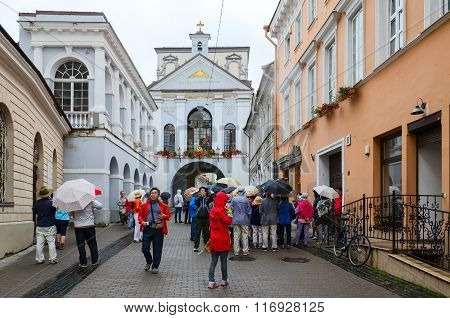 Chapel With Our Lady Of Gate Of Dawn, Vilnius, Lithuania