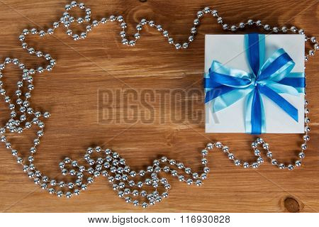 gift and beads from pearls