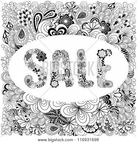 Sale Doodle Illustration
