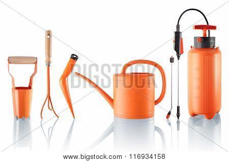 Set Of Useful Gardening Tools