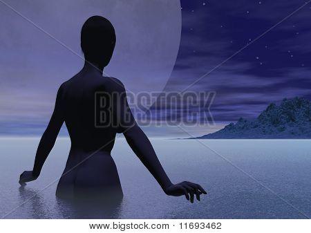 Moonlight Nude
