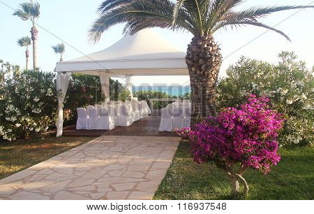Wedding Pavilion On The Beach