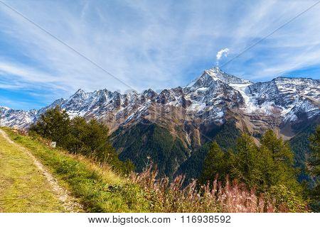 Stunning View Of Loetschental Valley