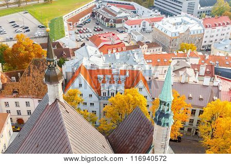 Tallinn. Estonia. Old city.