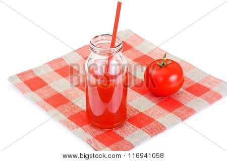 Sweet Tasty Vitamin Tomato Juice