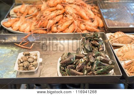 Fresh Seafood For Sale
