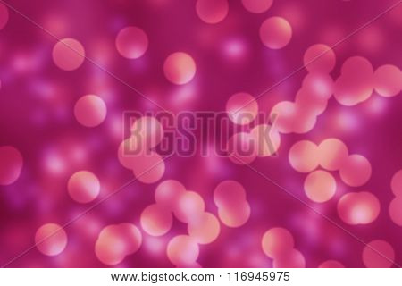 Pink Blush Bokeh