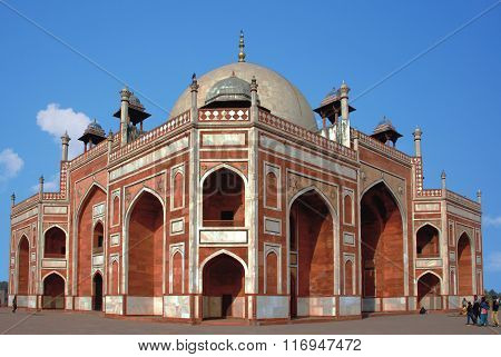 Delhi. Humayun's Tomb in Interpretation Ctntre.