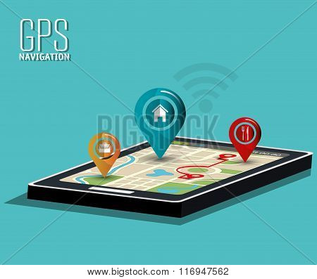 GPS navigation technology