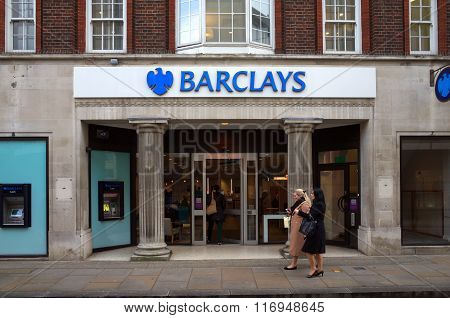 Barclays Bank - London