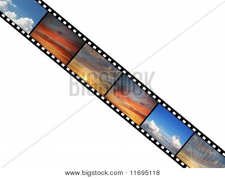 Film with sky photographs