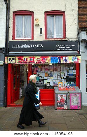 Newsagents - London