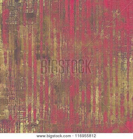 Grunge retro vintage texture, old background. With different color patterns: yellow (beige); brown; purple (violet); gray; pink