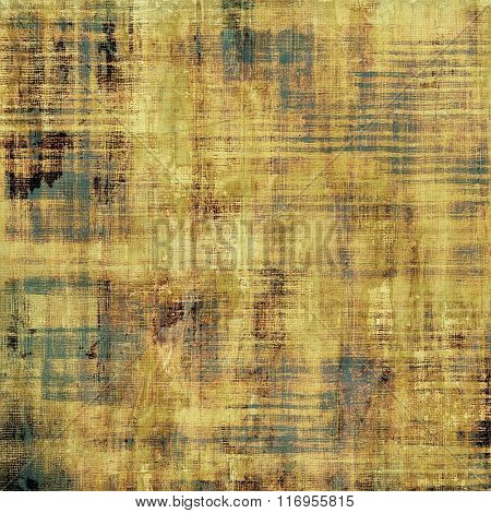 Abstract retro background or old-fashioned texture. With different color patterns: yellow (beige); brown; black; gray
