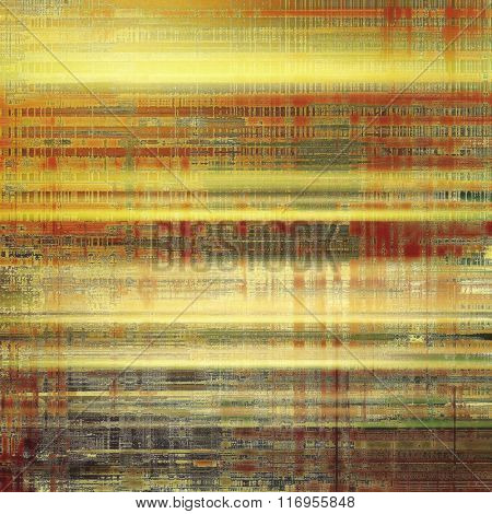 Grunge texture. With different color patterns: yellow (beige); brown; red (orange); green; gray