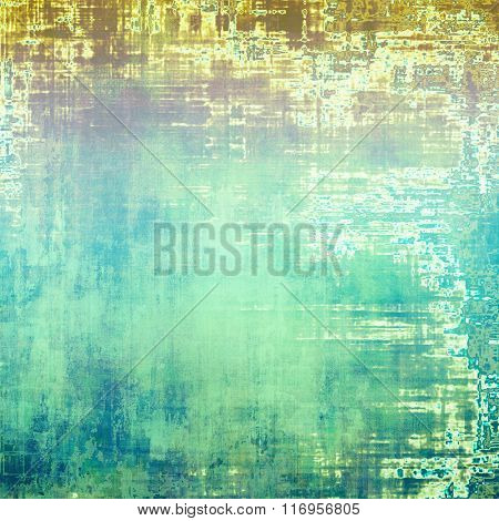 Old grunge antique texture. With different color patterns: brown; white; blue; green; purple (violet)