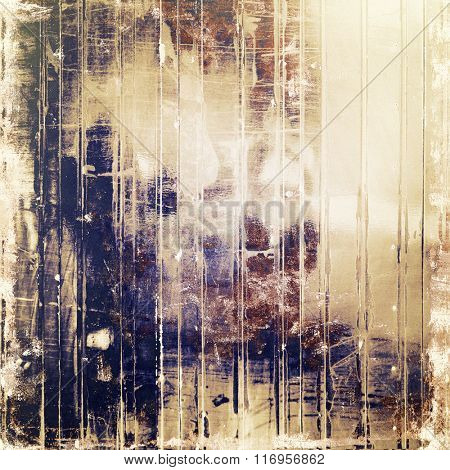 Abstract grunge textured background. With different color patterns: yellow (beige); brown; white; purple (violet); gray