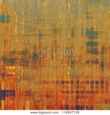 Old antique texture - perfect background with space for your text or image. With different color patterns: yellow (beige); brown; red (orange); green; purple (violet)