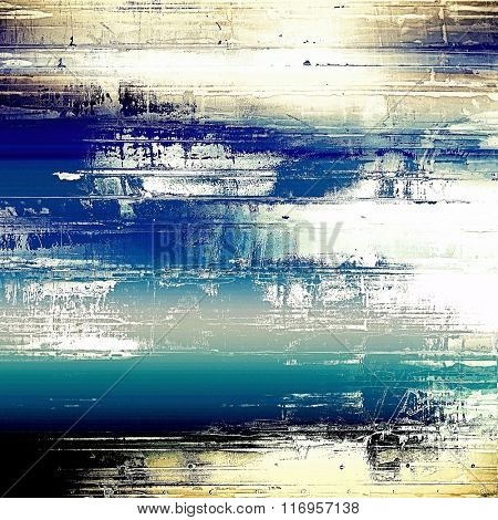 Rough vintage texture. With different color patterns: brown; white; black; blue; gray