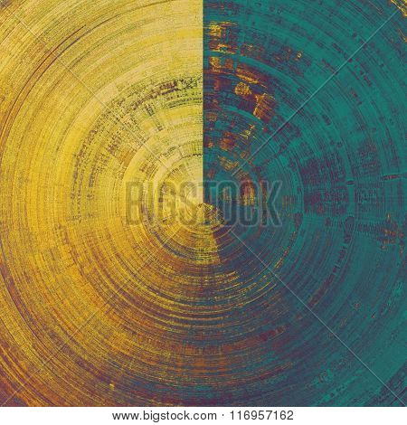 Rough spherical grunge texture. With different color patterns: yellow (beige); brown; blue; purple (violet)