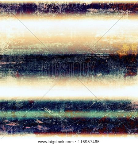Background with grunge stains. With different color patterns: yellow (beige); brown; red (orange); white; blue