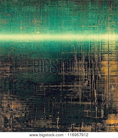 Rough vintage texture. With different color patterns: yellow (beige); brown; black; blue; green