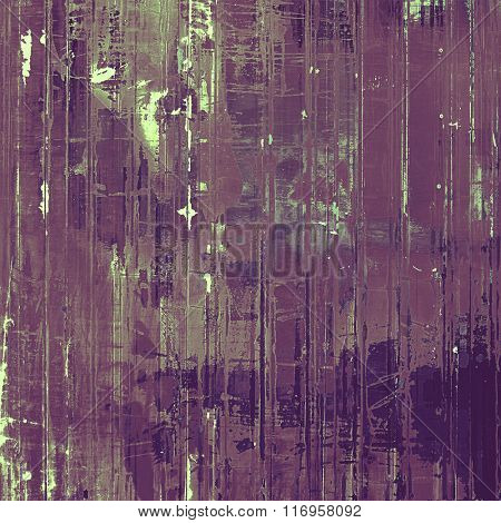 Grunge texture. With different color patterns: brown; purple (violet); gray; pink