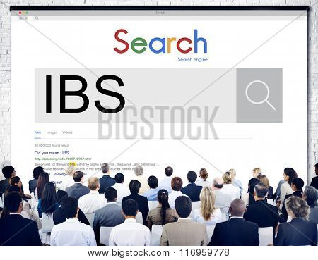 IBS Illnes Medical Sick Symptoms Concept
