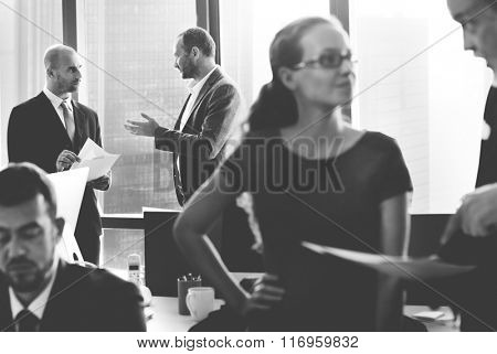 Business People Corporate Communication Interaction Concept