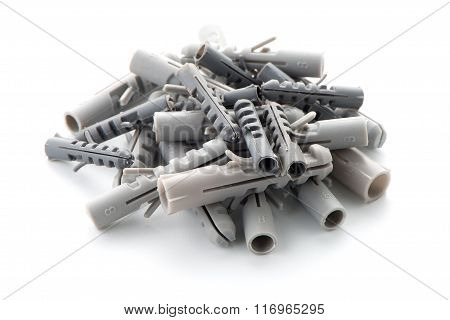 Grey Plastic Dowels