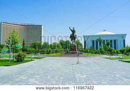 The Landmarks Of Tashkent