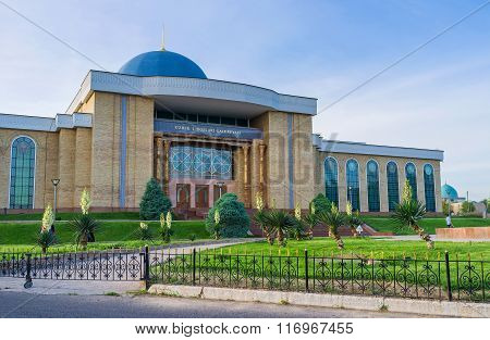 The National Arts Centre In Tashkent