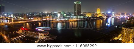 Cairo Night Panoramic