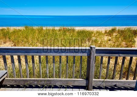 Cape Cod Sandy Neck Beach in Barnstable Massachusetts USA