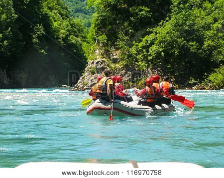 On the river rafting packages have passed the competition.