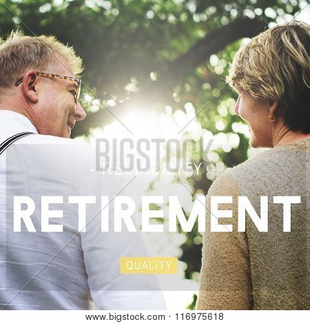 Retirement Retire Estate Fees Insurance Concept