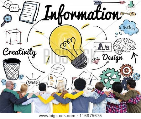 Information Data Communication Statistics Content Concept