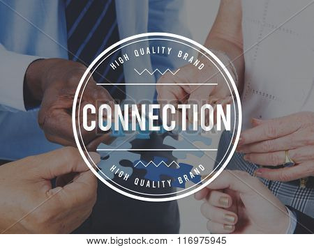 Connection Social Media Online Unity Concept