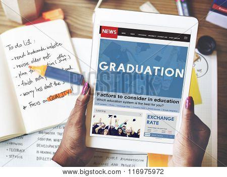 Graduation Education Knowledge School Concept