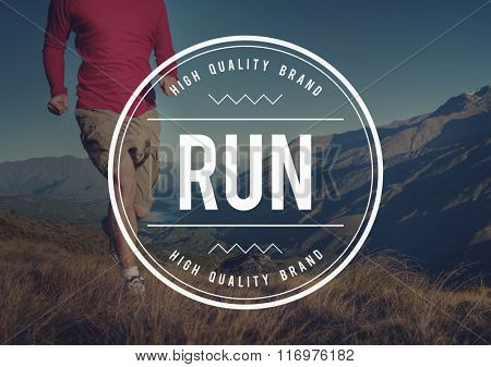 Run Rush Hurry Exercise Active Busy Jogging Concept