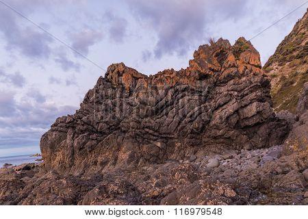 Face Shape Rock