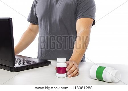 Researching Supplement Brands Online
