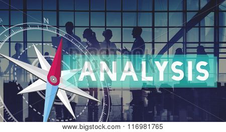 Analysis Analytics Business Strategy Research Concept