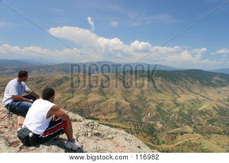 Hikers In Colorado