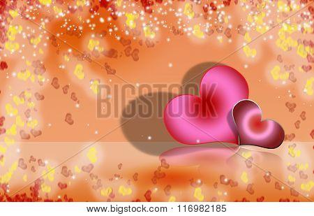 Valentine Heart Background 3