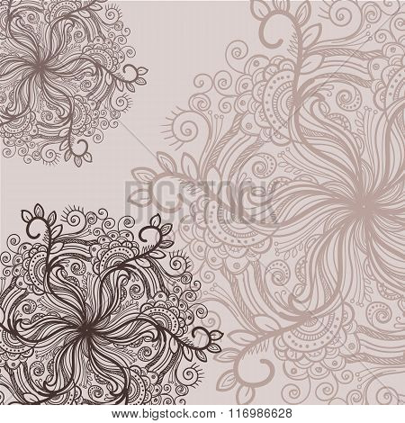 Decorative elements background