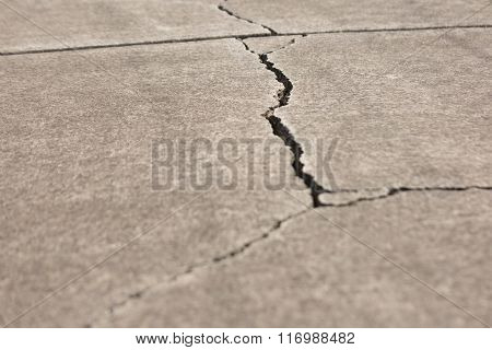 Cracked Walkway