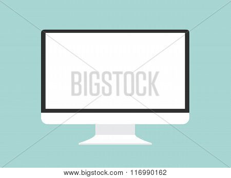 Computer Monitor Isolated