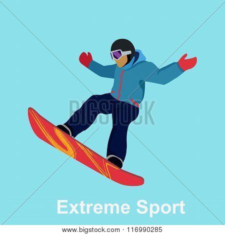 Extreme Sport Snowboard Design
